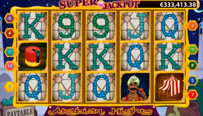 Arabian Nights Slot Jackpot