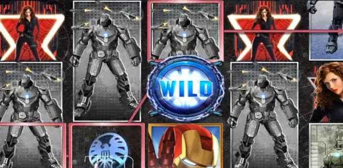 Iron Man Marvel-Helden Playtech Spielautomaten mit Online Casino Jackpot