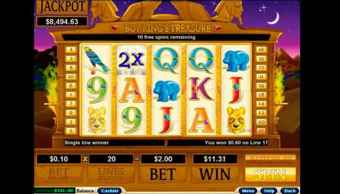 King's Treasure Slot Jackpot