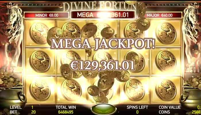 Net Entertainment Spielautomaten Jackpot