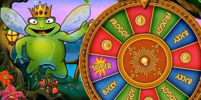 Super Lucky Frog Spielautomaten Jackpot Online