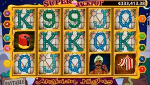 Arabian Nights Slot Jackpot