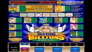 Major Millions Slot Jackpot
